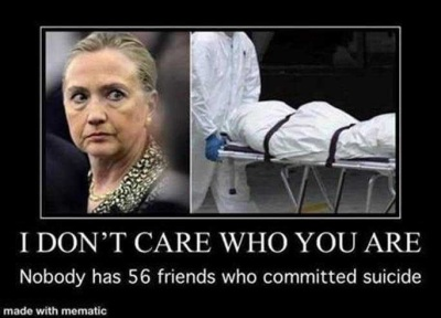 2020 Hillary 56 suicidal friends