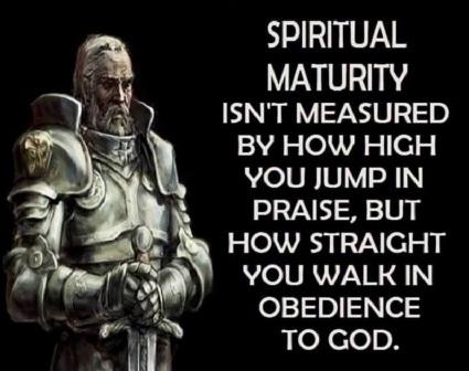 2019_11 17 spiritual maturity