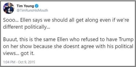 2019_11 19 Ellen hypocrisy