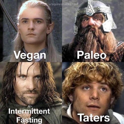 2019_11 21 Tolkien diets