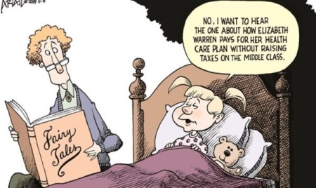 2020 Warren healthcare fairy tale