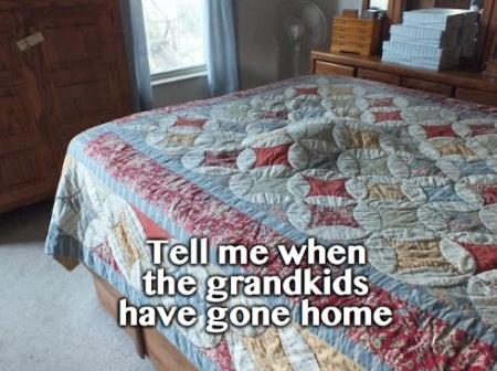 CAT when grandkids