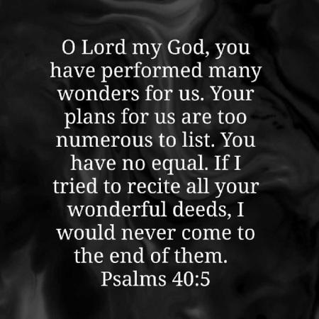 2019_11 30 Psalm 40 5