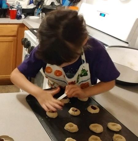 2019_12 07 Bunny Christmas cookies