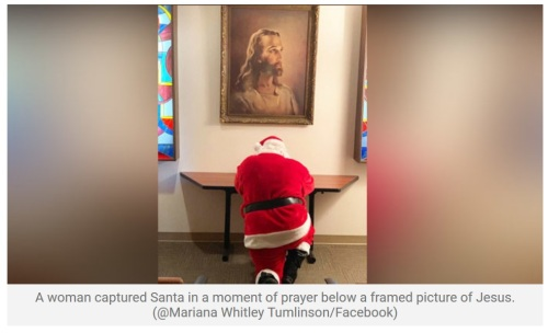 2019_12 20 Santa praying IRL