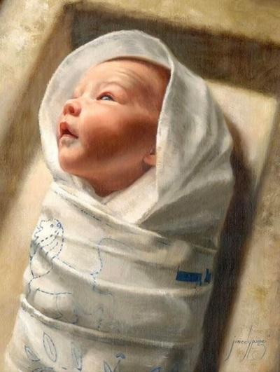 2019_12 22 Child in a manger