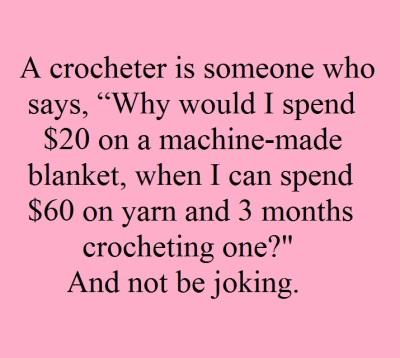 2019_12 23 Crocheter is