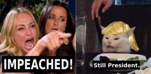 2020 impeached still president