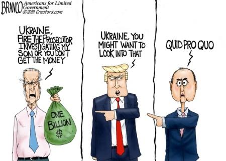 2020 Quid pro quo by Branco