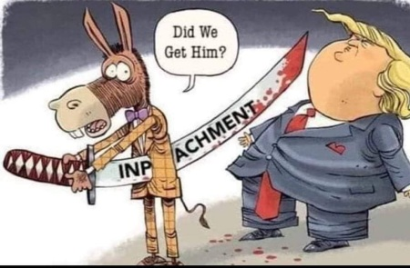2020 impeachment toon