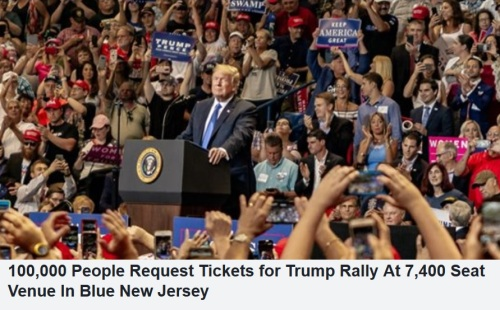 2020 NJ Trump rally