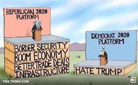 2020_01 22 GOP vs Dem platforms