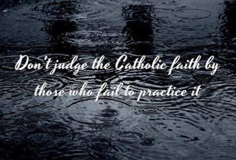 2020_03 08 Catholic faith - Please don't judge
