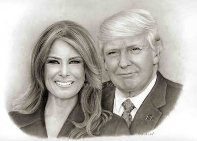 2020_03 15 Trump drawing