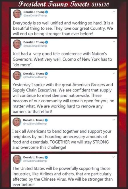 2020_03 19 Trump tweets
