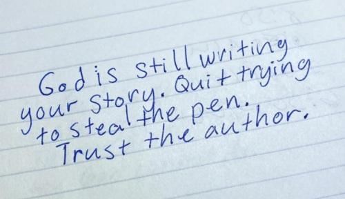 2020_03 25 God is still writing