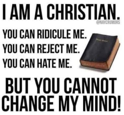 2020_04 25 I am a Christian