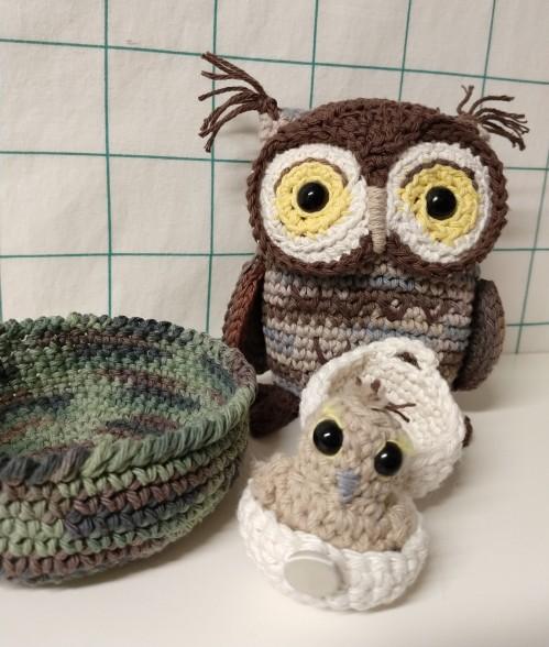 2020_05 12d Owl owlet egg open
