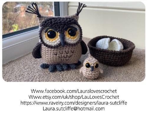 2020_05 12e Owl Owlet Pattern pic