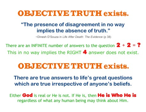 2020_05 22 Objective Truth Exists