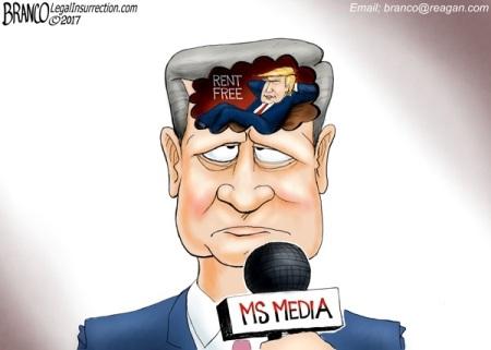 2020_05 22 Trump in media's head by Branco