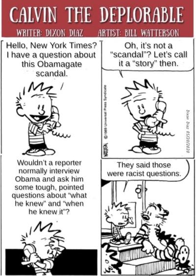 2020_05 29 Obamagate Calvin the Deplorable
