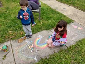 2020_05 Pandemic chalk fun