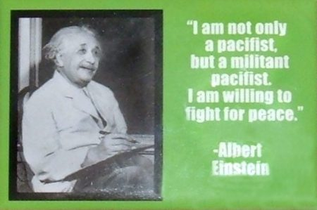 2020_06 06 I am a militant pacifist