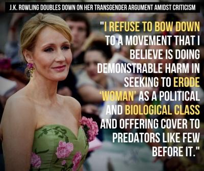 2020_06 12 Trans JK Rowling