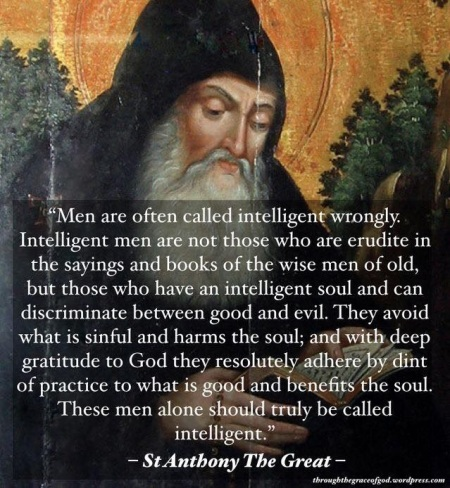 2020_07 20 Intelligent Men by St Anthony the Great