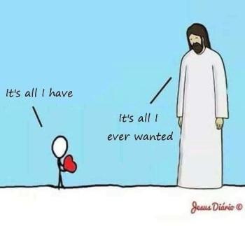 2020_08 23 Jesus wants