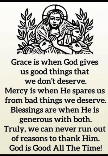 2020_08 26 Grace Mercy God is Good