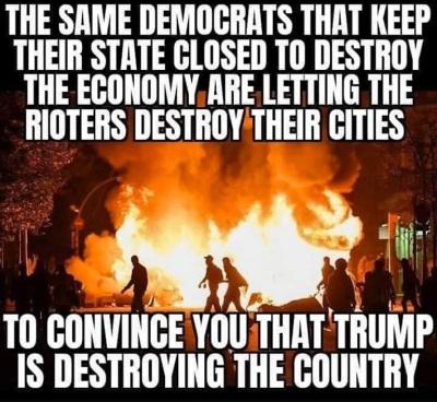 2020_08 28 Dem cities riot